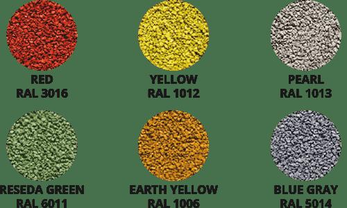 6 kolorów