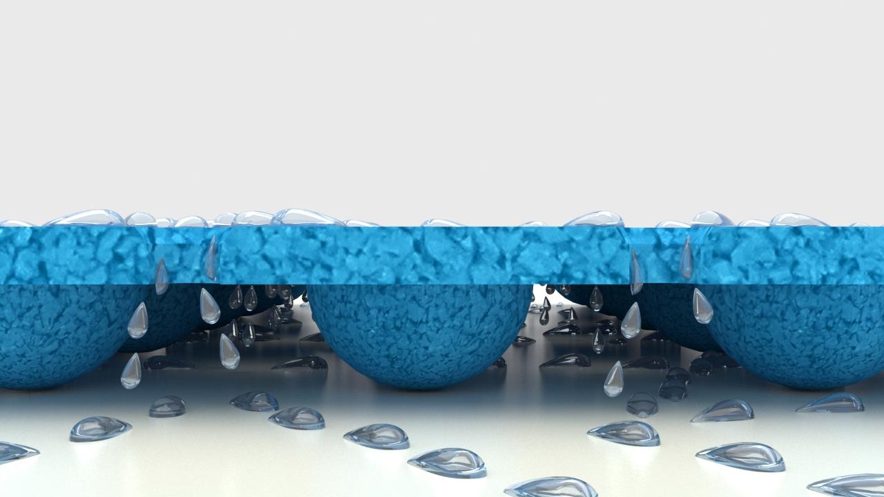 Nawierzchnie poliuretanowe wodne place zabaw