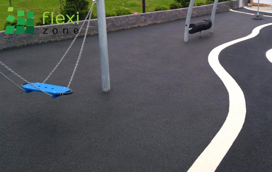 podłoze na plac zabaw