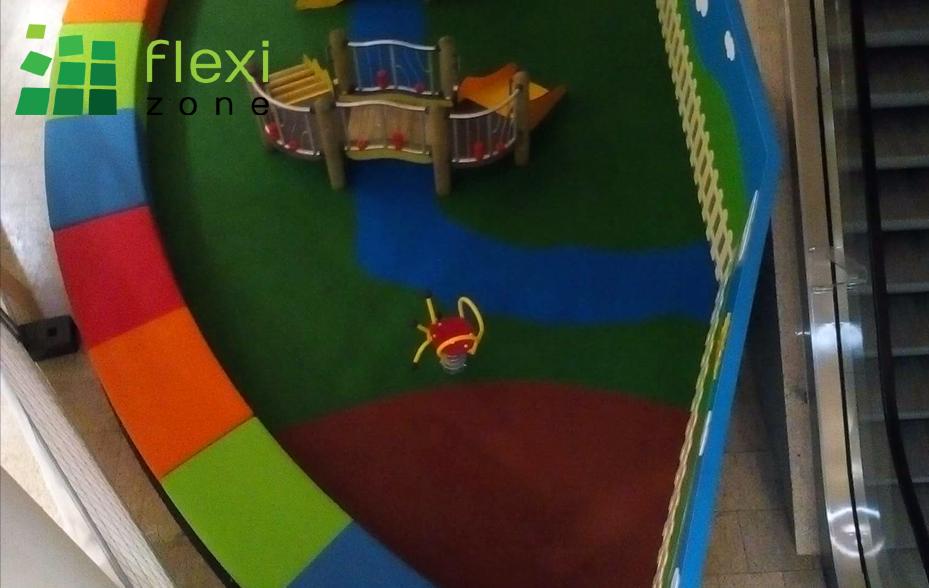 podłoże na plac zabaw nawierzchnia wylewana